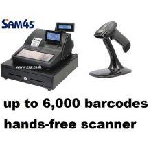 Sam4s NR510F (510B) Cash Register And Handsfree Scanner