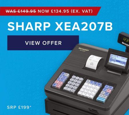 Sharp XEA207B Cash Register