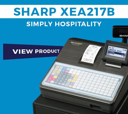 Sharp XEA217B Cash Register