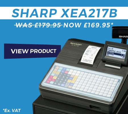 Sharp XEA217B Cash Register