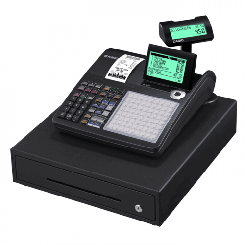 Casio SEC450 Black Cash Register Till