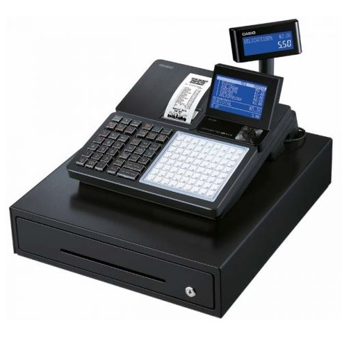 Casio SRC550 Black Cash Register Till