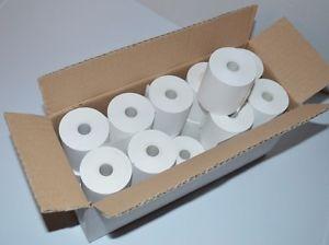 57mm X 50mm Thermal Till Rolls. Box Of 20. (28m Of Paper Per Roll)
