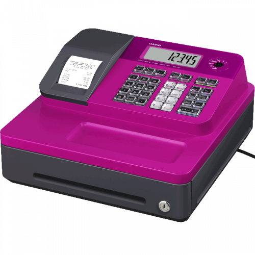 Casio SEG1 Pink Cash Register Till
