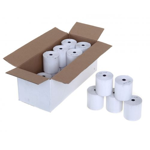 57mm X 57mm Thermal Till Rolls. Box Of 20