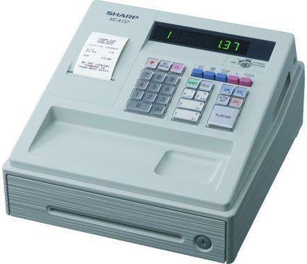 Sharp Cash Register XEA137W White